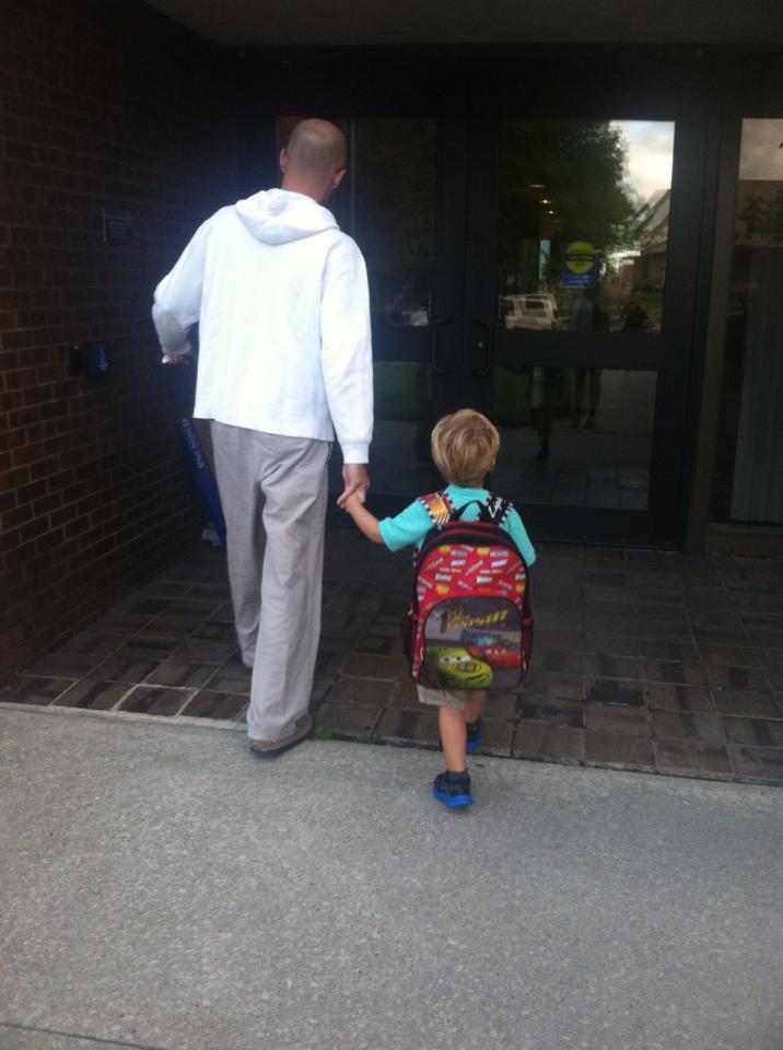 Sawyer1stDaySchool
